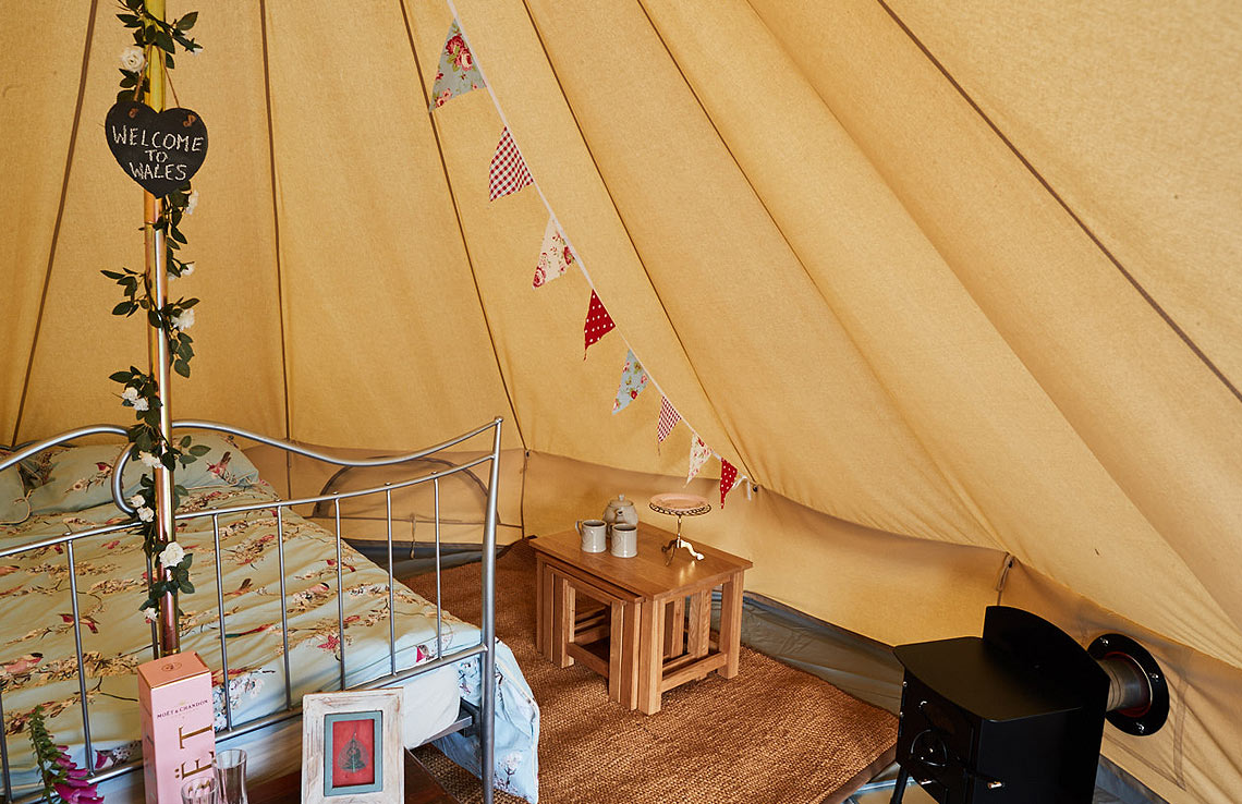 glamping-tent-log-burner