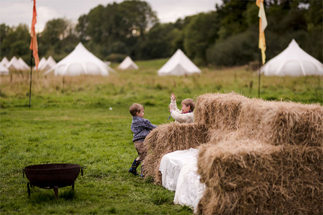 Bespoke Barn Weddings with meadow & glamping at Swallow ...